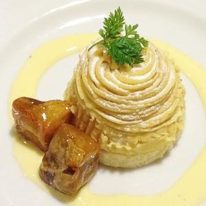 ココス お芋のモンブラン