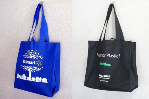 トートタイプwalmart reusable shopping bag