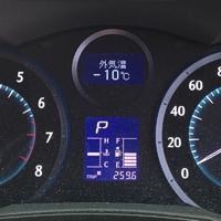 マークX Zio車載温度計