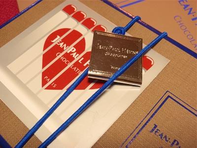 2013バレンタインJEAN-PAUL HEVIN box tag
