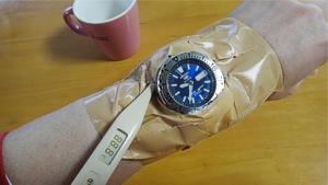 腕時計保温温度測定
