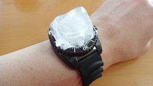 SEIKO Kinetic Diver's 200m 窓氷冷