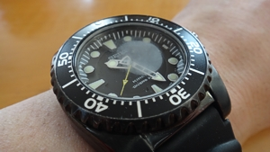 SEIKO Kinetic Diver's 200m 結露