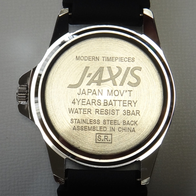 jaxis Watch case back