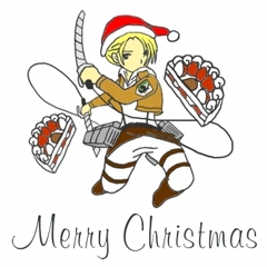 2013 Merry Christmas Annie クリスマス絵