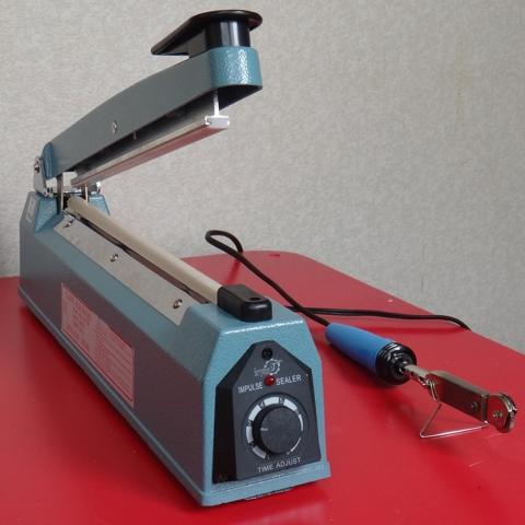インパルスシーラーと簡易型シール機 外観