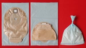 SSサイズ袋とダンサックノバ1フォールドアップ