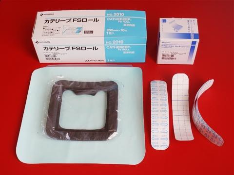 医療用ドレッシング材と自作水泳用ストーマ装具防水カバー
