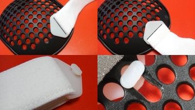 ストーマプロテクター固定ベルトの装着方法