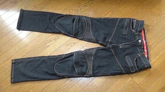 KOMINE PK-718 SuperFIT Kevlar Denim Jeans , size L/32(プロテクターをはずした状態で撮影)