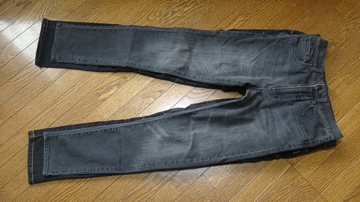 KOMINE PK-718 L/32とUNIQLO Men's Leggings Jeans W28-29
