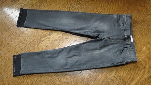 KOMINE PK-718 L/32とUNIQLO Men's Slim Fit Straight Jeans W31