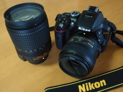 Nikon D5300 18mm-140mmズームレンズ 40mmマイクロ単焦点レンズ