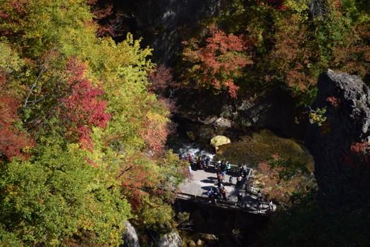 鳴子峡渓谷 2015年10月18日