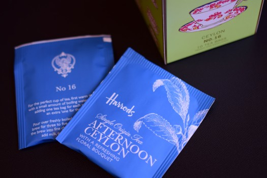 Harrods AFTERNOON CEYLON TEA