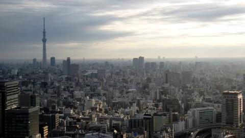 シャングリラホテル東京36階から撮影