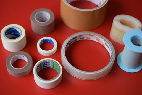 色々な粘着テープ