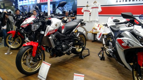 YAMAHA MT-09 White Color
