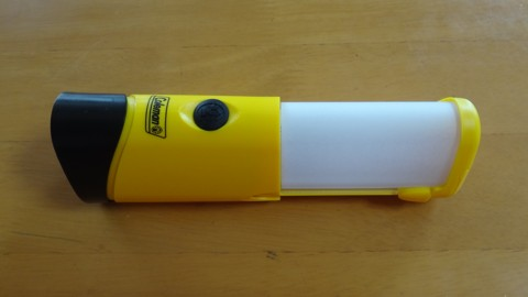 Coleman LED Micropacker Lantern 明かりマイルド化処理