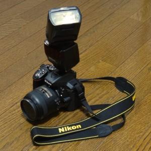 Nikon D5300とSB-700