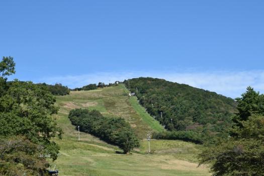 2016年 秋の泉ヶ岳スキー場