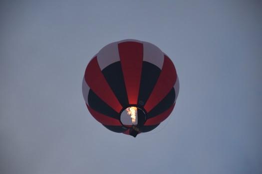 熱気球バーナー点火