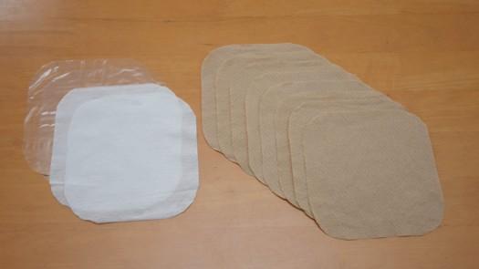 種々のストマパウチカバー材調製