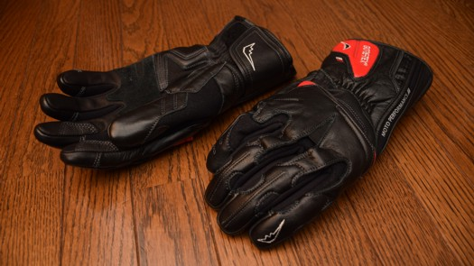 KUSHITANI K-5567 GORE-TEX LEATHER GLOVES