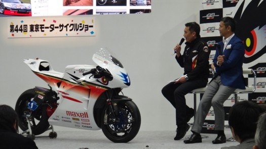 チーム無限2017マン島TT参戦車両 神電六 発表会