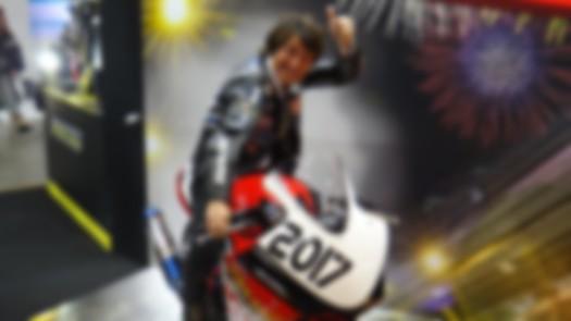 東京モーターサイクルショー2017丸山浩