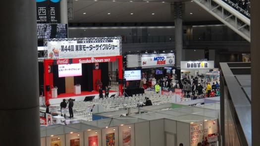 第44回東京モーターサイクルショーステージ