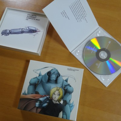 FULLMETAL ALCHEMIST COMPLETE BEST 鋼の錬金術師CD and DVD