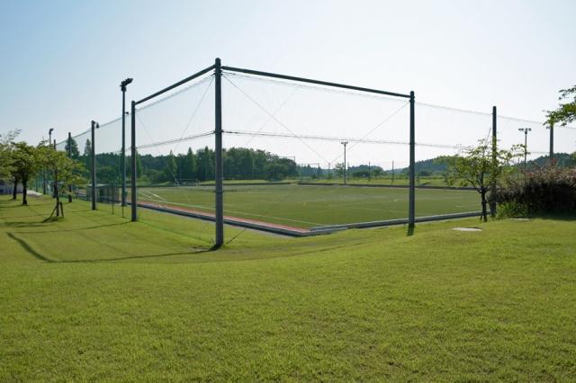 愛宕山公園内サッカーグラウンド