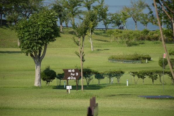 愛宕山公園内パークゴルフ場