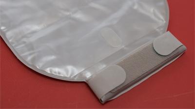 センシュラミオ1透明ロールアップマジックテープ留め