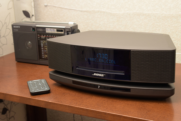 BOSE Wave SoundTouch music system IVとソニーラジオ.jpg