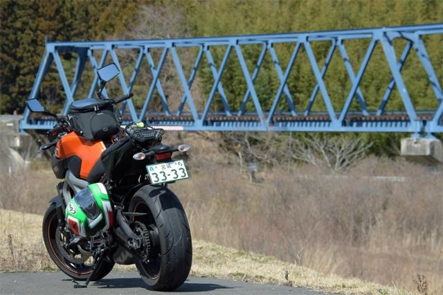 気仙沼線の鉄橋とMT-09.jpg
