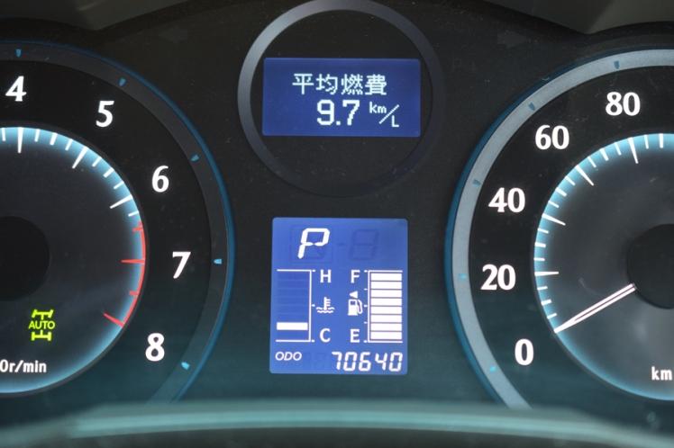 MarkXZio 240G Four走行距離と平均燃費