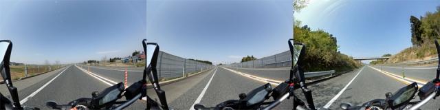 宮城県北高速幹線道路20180429KenU MT-09