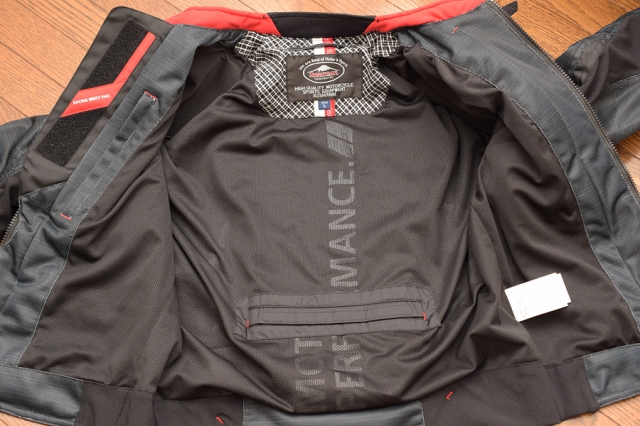 KUSHITANI K-2321 AIR CONTEND JACKET Inside