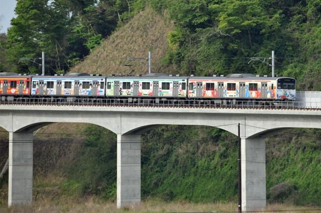 奥松島にて仙石線マンガッタンライナー