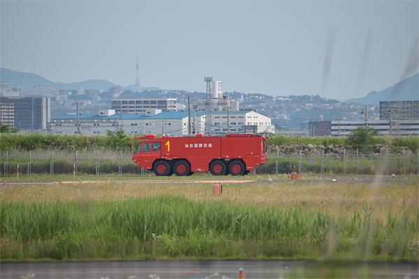 仙台国際空港消防車
