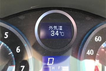 mark x zio 車載温度計 外気温表示20180630