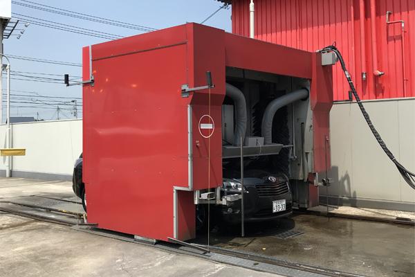 20180720 Mark X Zio洗車乾燥