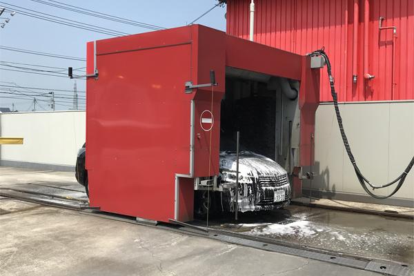 20180720洗車 熱中症危険性により脱出