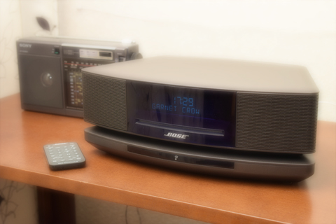 BOSE Wave SoundTouch music system IVとSONY ICF-EX5MK2