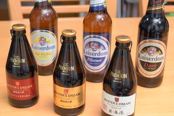 本場のドイツビールを飲んでみようセール3本1000円