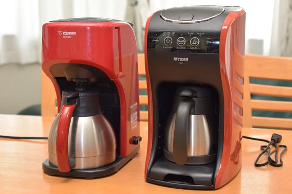 コーヒーメーカー比較 象印とタイガー.jpg