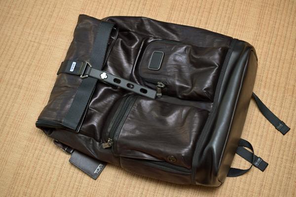TUMI Luke Roll-Top Backpack BRAVO