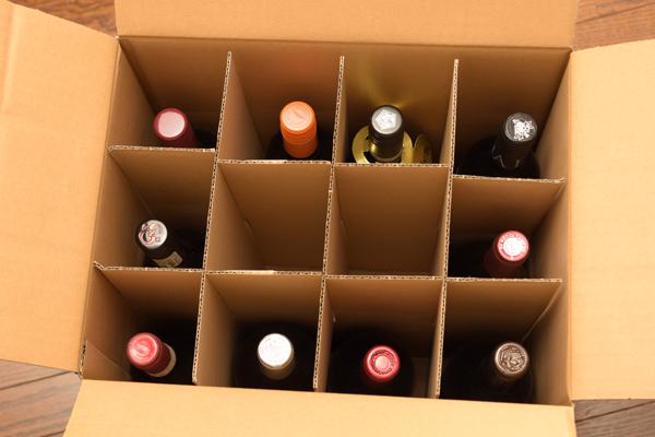 世界7か国のワイン10本ダンボール箱